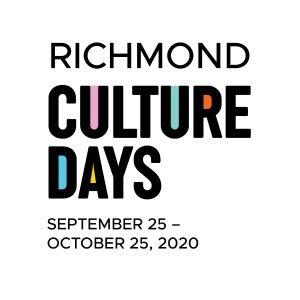 1080×1080 Richmond Culture Days Logo 2020 – multicolour
